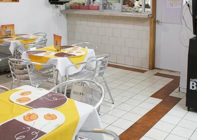 Cafetería y cocina
